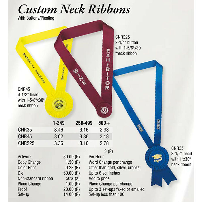 Medals & Neck Ribbons & Drapes Archives - Promotional Items